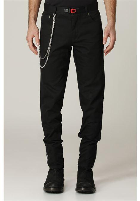 Jeans con zip sul fondo PLUSQUEMAVIE | Jeans | PA009NERO