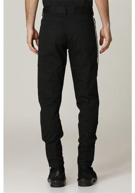 Jeans con zip sul fondo PLUSQUEMAVIE   Jeans   PA009NERO