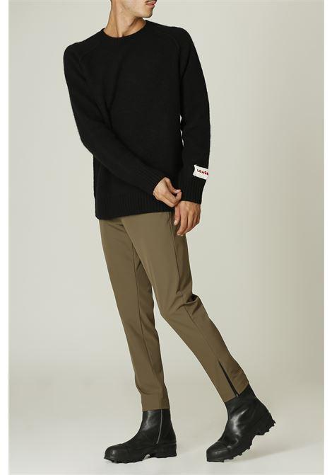 Pantalone con zip PT TORINO   Pantalone   NU47FANGO
