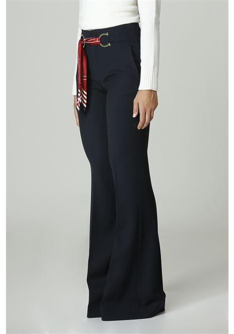 Pantalone con foulard SEAFAFER   Pantalone   SWP0007TWS0002BLU