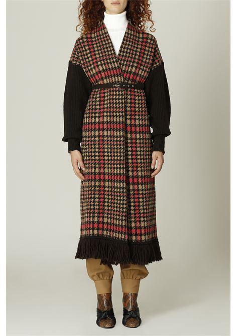 Cappotto in lana SIMONA CORSELLINI | Cappotto | A21CPCPE01ROSA/MORO