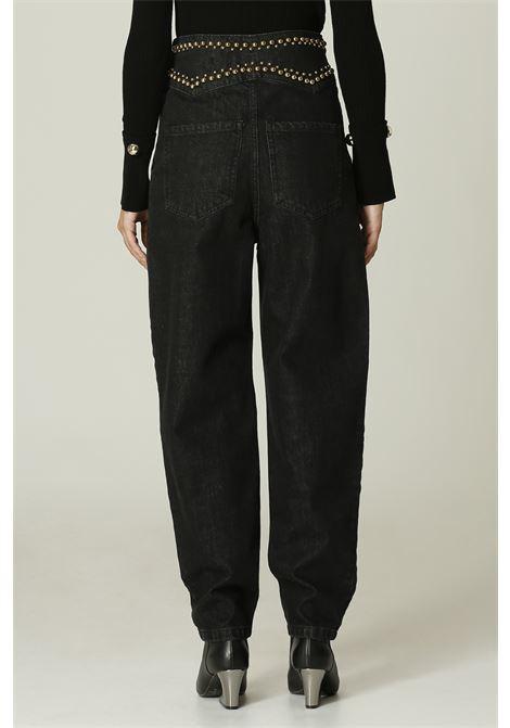 Jeans con borchie SIMONA CORSELLINI | Jeans | A21CPOAD06NERO