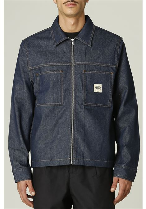 Jacket denim STUSSY | Jacket | 1110184DENIM