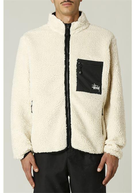 Jacket con logo STUSSY | Jacket | 118437VENUS JACQUARD SHERPA