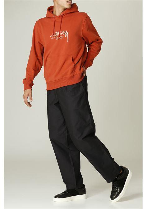 Felpa hoodie STUSSY | Felpa | 118446ARANCIO