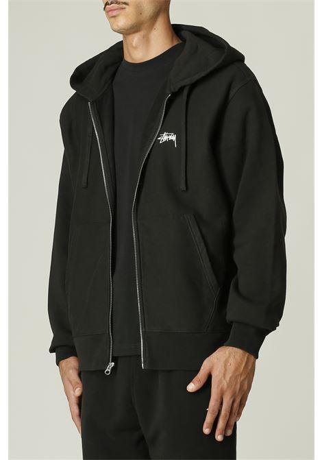 Felpa hoodie STUSSY | Felpa | 118454STOCK LOGO