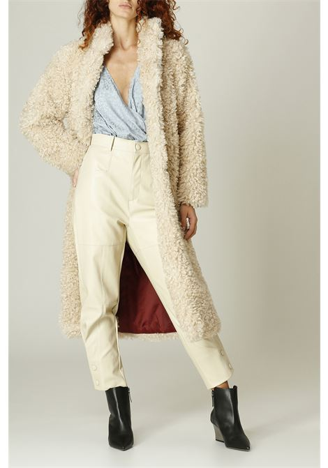 Cappotto Teddy WEILI ZHENG | Cappotto | WWZCC101PANNA