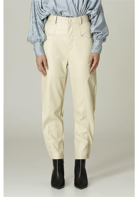 Pantalone in Ecopelle WEILI ZHENG | Pantalone | WWZPL171PANNA