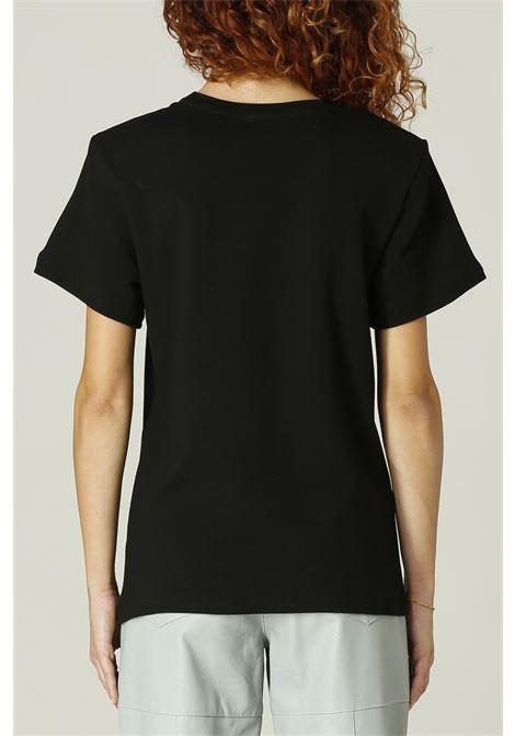 T-shirt con spalline WEILI ZHENG | T-shirt | WWZTM15NERO
