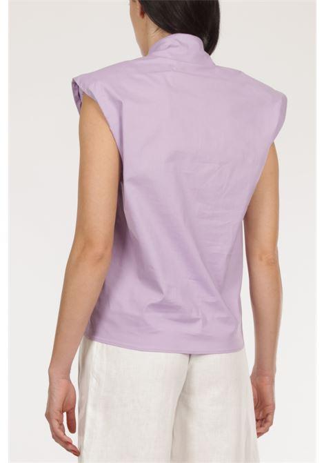 Camicia giromanica ACTUALEE   Camicia   CA491LILLA