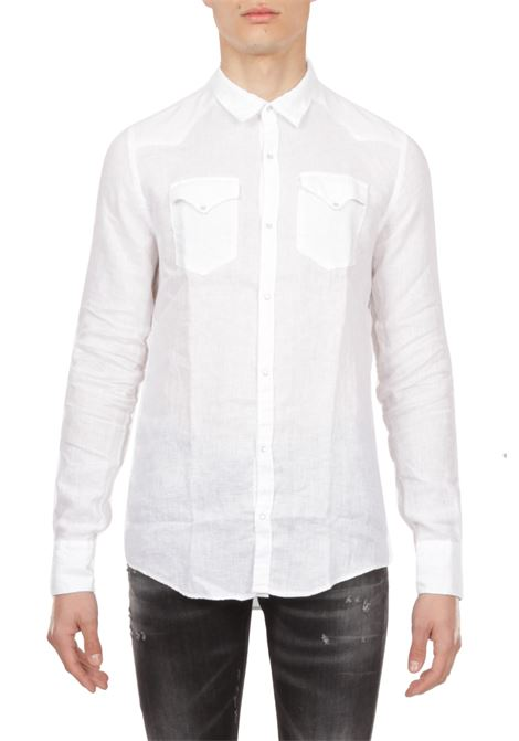 Camicia in lino AGLINI | Camicia | MARIOARKANSAS142036