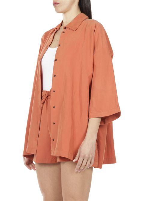 Camicia slavata AKEP | Camicia | KE1056ARANCIO