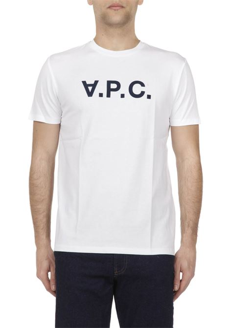 T-shirt con logo APC | T-shirt | COBQXH26586
