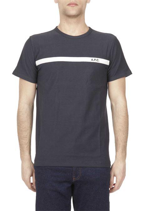 T-shirt con logo ricamato APC | T-shirt | COCLIH26853