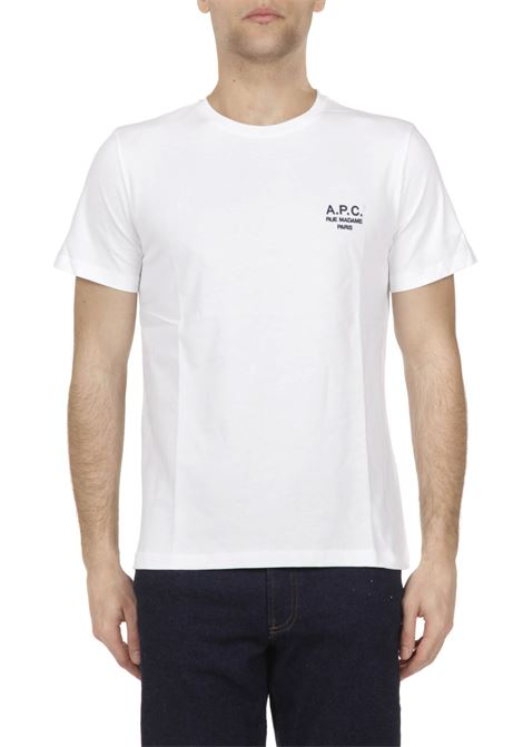 T-shirt con logo ricamato APC | T-shirt | COEAVH26840
