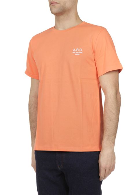 T-shirt con logo ricamato APC | T-shirt | COEAVH26840C