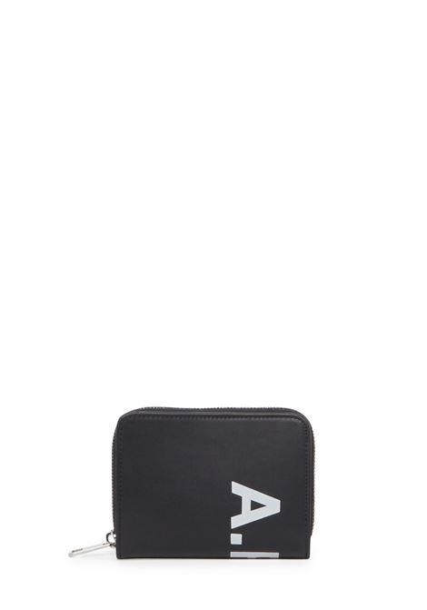 Portafoglio con logo APC | Portafogli | POZXANSNERO