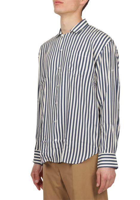 Camicia motivo a righe BAGUTTA | Camicia | GELA_EL11167.251