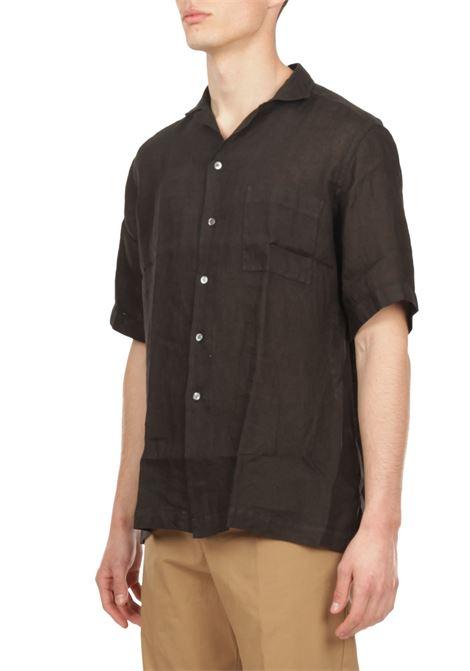 Camicia maniche corte BAGUTTA | Camicia | MAUI_EAMT11028
