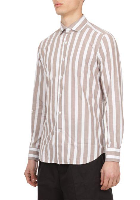 Camicia motivo a righe BAGUTTA | Camicia | WALTER_EBLW11181