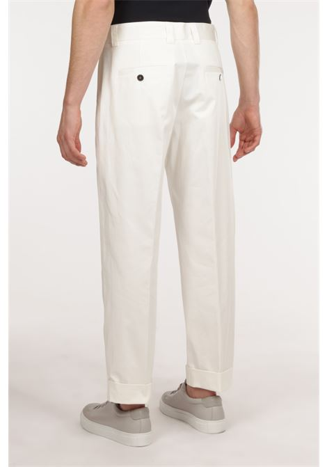 Pantalone BRIAN DALES | Pantalone | JK4558 P135BIANCO