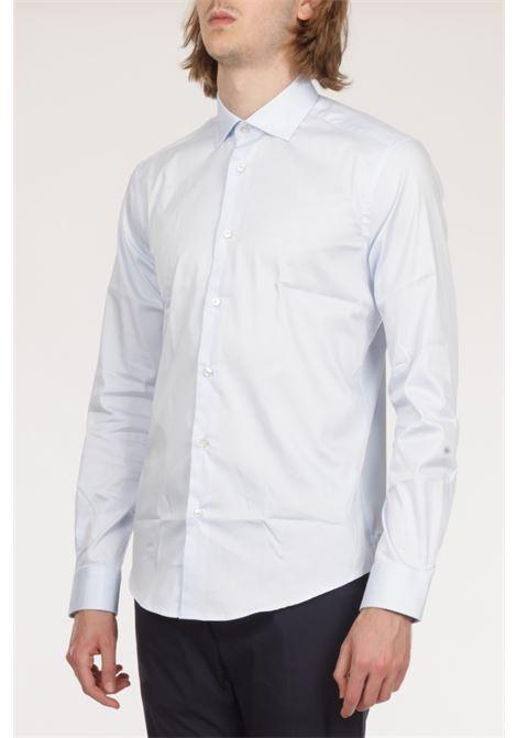 BRIAN DALES | Shirt | ST8301 BS50SPAZZURRO
