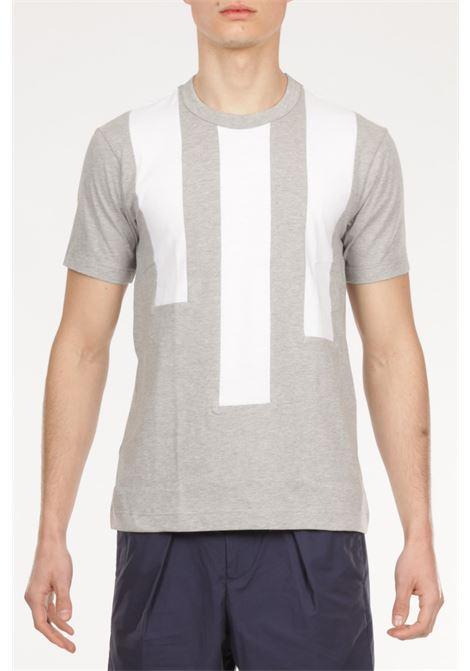 T-shirt a fasce COMME DES GARCONS | T-shirt | FG-T010BIANCO