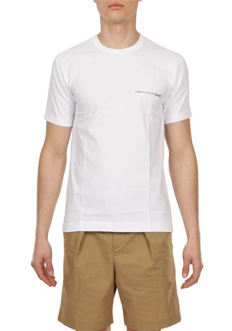 T-shirt logo COMME DES GARCONS | T-shirt | FG-T018BIANCO