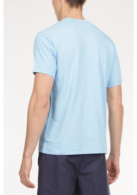 Tshirt Logo COMME DES GARCONS | T-shirt | TG-T020AZZURRO