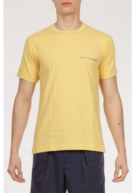 Tshirt Logo COMME DES GARCONS | T-shirt | TG-T020GIALLO