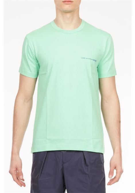 Tshirt Logo COMME DES GARCONS | T-shirt | TG-T020VERDE