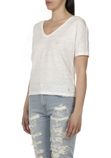 T-shirt in lurex DES PETITS HAUTS | T-shirt | 1E210241BIANCO