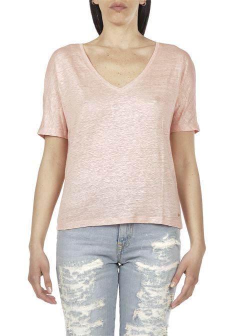 T-shirt in lurex DES PETITS HAUTS | T-shirt | 1E210241ROSA