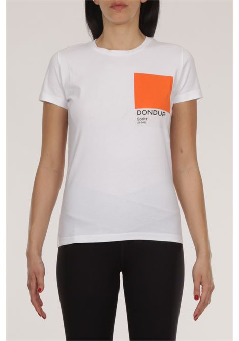 T-shirt con scritta DONDUP | T-shirt | S856 JF0284BH4-000