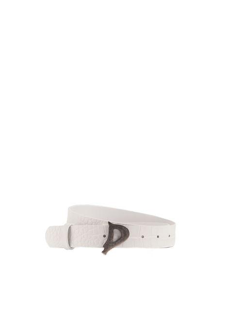 Cintura con fibbia logo DONDUP | Cinture | WC221 PL0273XXX-000