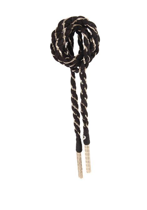 Cintura intrecciata DONDUP | Cinture | WC240 Y00497XXX-999