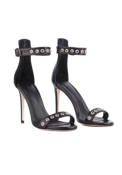 Sandalo con borchie DONDUP | Sandalo | WS204 PL0286XXXW-999
