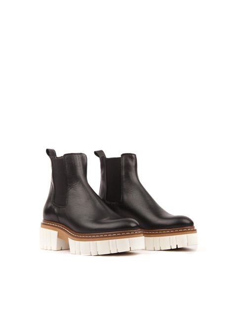 Boots in pelle GISEL | Anfibio | NAOMINERO