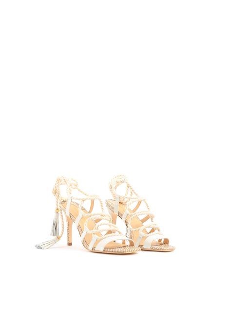 Sandalo allacciato GOLD&ROUGE | Sandalo | AGADIRWHITE