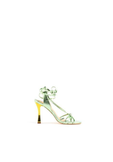 Sandalo stringato GOLD&ROUGE | Sandalo | ATLASGREEN