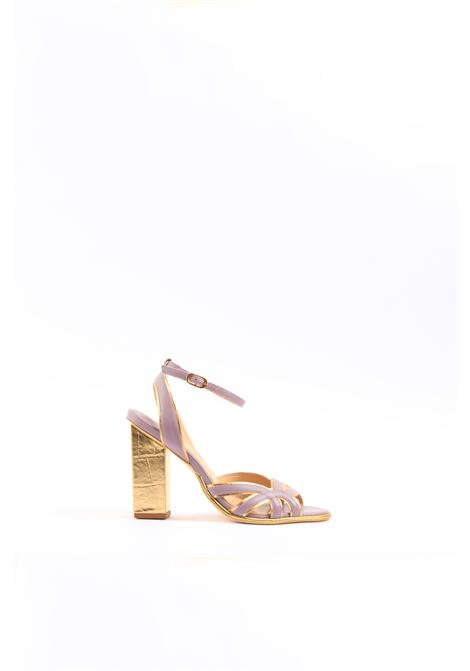 Sandalo con cinturino GOLD&ROUGE | Sandalo | KALILALILA/GOLD