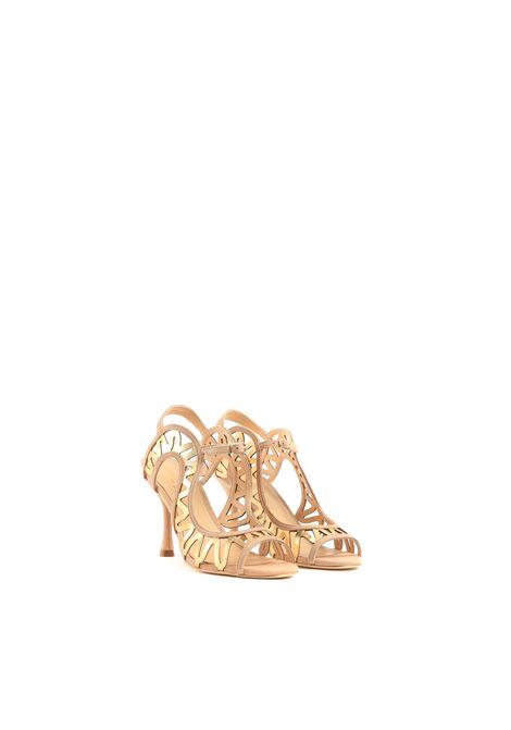 Sandalo con cinturino GOLD&ROUGE | Sandalo | ONDENUDE