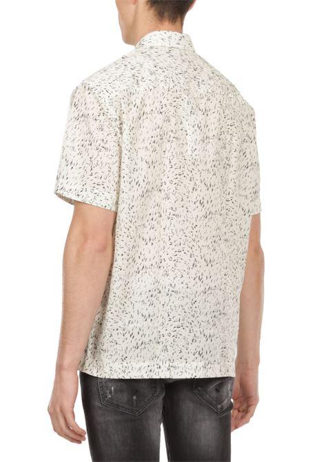 Camicia maniche corte GRIFONI | Camicia | GI120028/20PANNA/NERO