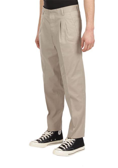 Pantalone con pince GRIFONI | Pantalone | GI140002/29SABBIA