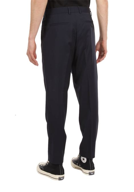Pantalone con pince GRIFONI | Pantalone | GI140002/33BLU