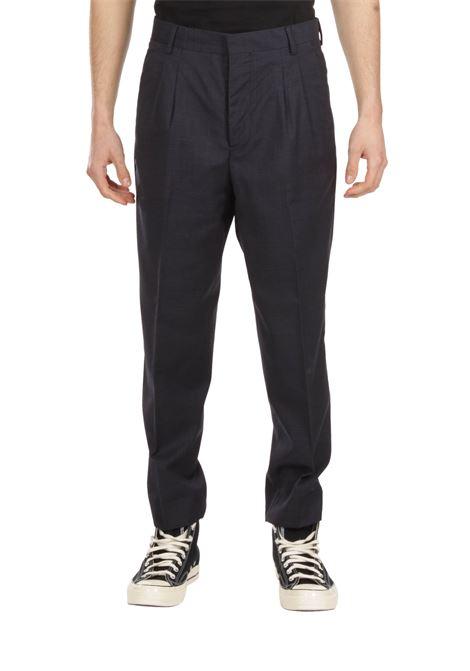 Pantalone con pince GRIFONI   Pantalone   GI140002/36BLU