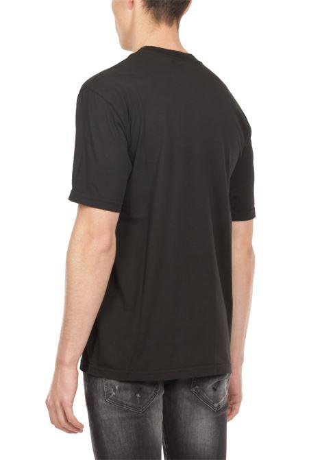 T-shirt con taschino GRIFONI | T-shirt | GI180010/55NERO