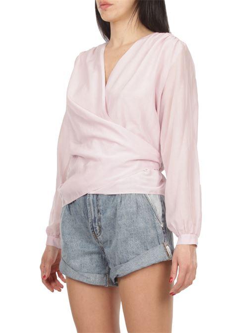 Camicia incrociata GRIFONI | Camicia | GI220019/11ROSA