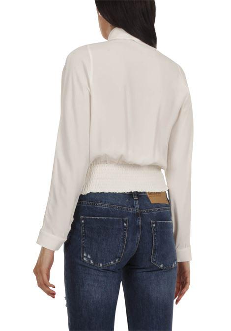 Camicia con elastico GRIFONI | Camicia | GI220032/7BIANCO