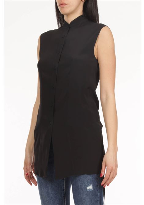 Camicia lunga GRIFONI | Camicia | GI220047/7NERO